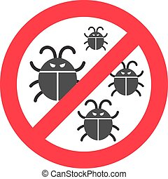 Virus bugs illustration