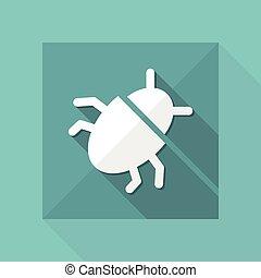 Virus concept - Minimal vector icon