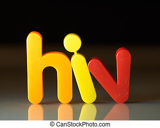 virus, concepto, VIH