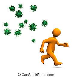 virus, danger