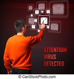 Virus detected from your digital interface system
