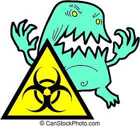 virus, gevaar