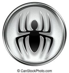 virus, gris, icône