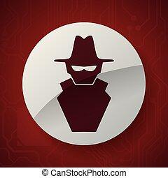 virus icon design