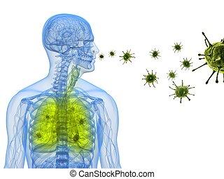 virus, infección