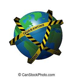 virus, oběžnice, quarantine., odít rubášem, hostina, opratě,...
