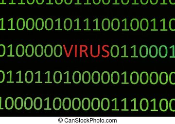 Virus on binary data