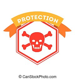 virus protection design - virus protection design, vector...