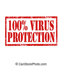 Virus Protection-stamp