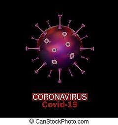Virus Strain Model of Novel Coronavirus 2019-nCoV Covid-19