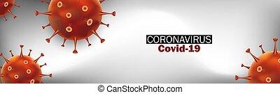 Virus Strain Model of Novel Coronavirus 2019-nCoV Covid-19. ...