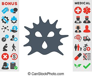 Virus Structure Icon