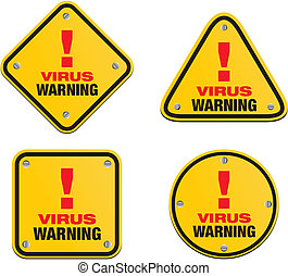 virus warning signs