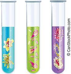 Viruses in test tube
