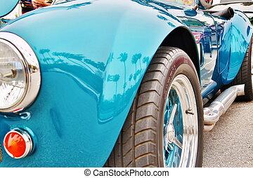 visa, bil, klassiska bilar