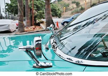 visa, klassisk bil, bilar