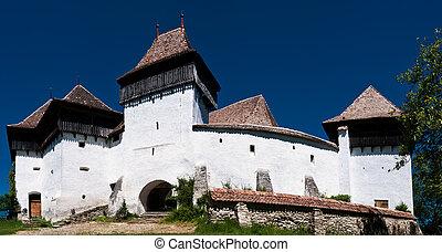 Viscri, fortified church in Romania - The village of Viscri...