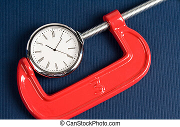 Vise Grip and Clock, Concept of busy