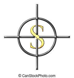 viser, dollars