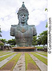 vishnu, gigante, indonesia, statua, bali