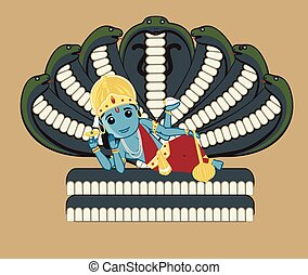 Vishnu - Indian Mythology God