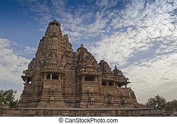 vishvanatha, świątynia, khajuraho