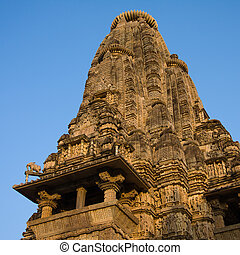 Vishwanatha hindu temple in Khajuraho, India
