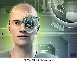 visión, augmented