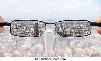 visión clara, empresa / negocio