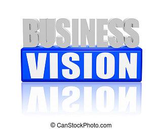 visie, zakelijk