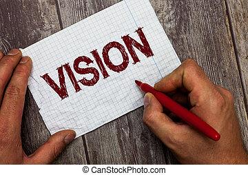 vision., 概念, ある, テキスト, できる, 意味, 見なさい、, 計画, 目的, 手書き, 未来, インスピレーシヨン
