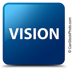Vision blue square button