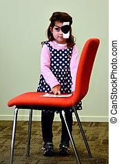 Vision check for pre-school children