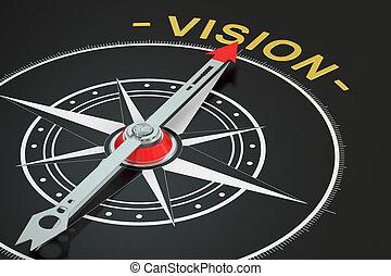 Vision concept, 3D rendering