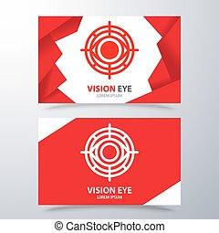 Vision eye symbol icon