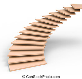 Stairs Vision Meaning Missions Upstairs And Ascend