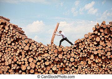 vision - hardworking businessman - business vision...