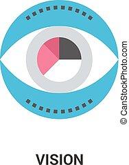 vision icon concept