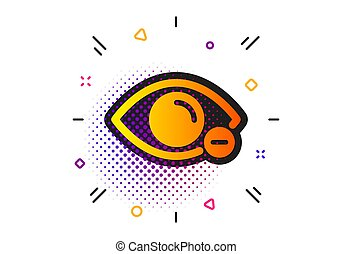 vision., icon., zeichen., optometrie, diopter, auge,...