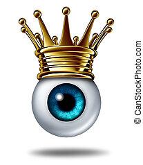 Vision Leadership - Vision leadership business concept...
