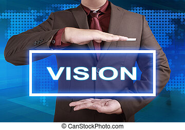 Vision, Motivational Words Quotes Concept