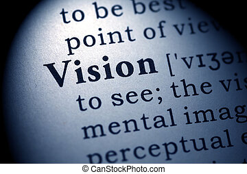 vision - Fake Dictionary, Dictionary definition of the word...