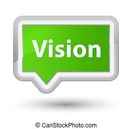 Vision prime soft green banner button
