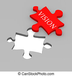 Vision puzzle