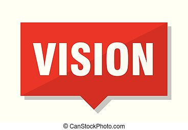 vision red tag