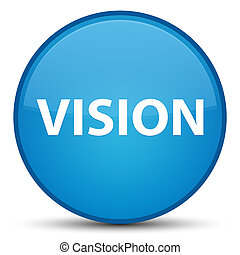 Vision special cyan blue round button
