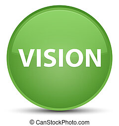 Vision special soft green round button