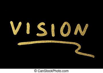 Vision text conception