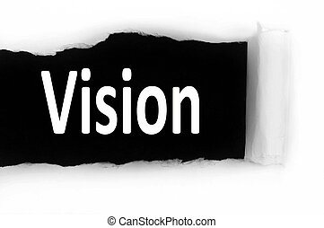 Vision under paper