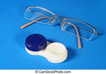 vision wear - eye glasses and contact lenses